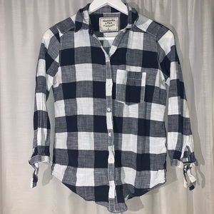 Abercrombie and Fitch - Button Down Plaid Flannel